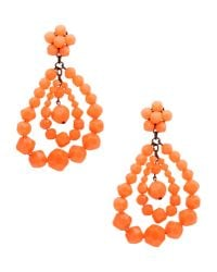 Mercantia | Orange Earrings | Lyst