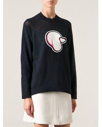 3.1 Phillip Lim - Blue 'Poddle' Sweater - Lyst