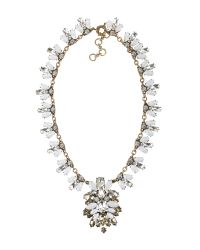 Ziba - Gray Maria Necklace - Lyst