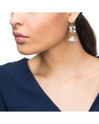 Lulu Frost - Metallic Terraced Earring - Lyst