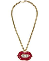 Erickson Beamon | Multicolor So Real Necklace | Lyst