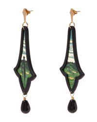 Anna E Alex - Green La Campagna Earrings - Lyst