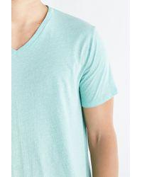 BDG - Blue Standard-fit V-neck Tee for Men - Lyst