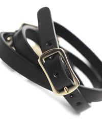 McQ   Black Triple Wrap Razor Bracelet   Lyst