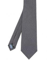 Jules B - Gray Silk Pin Dot Tie for Men - Lyst