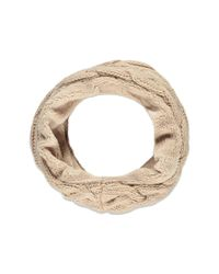 Forever 21 | Pink Plushy Cable Knit Infinity Scarf | Lyst