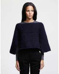 Wool And The Gang | Blue Fair Lady Cape | Lyst