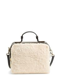 Ivanka Trump | Natural 'bedminster' Crossbody Satchel | Lyst