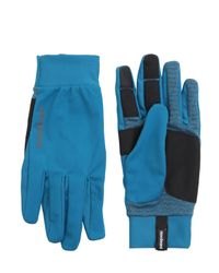 Patagonia - Blue Wind Shield Running Gloves - Lyst
