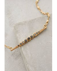 Anthropologie - Metallic Adelais Pendant Necklace - Lyst