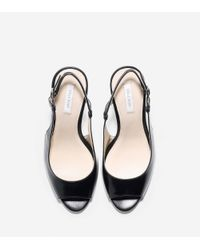 Cole Haan - Black Bethany Open Toe Sling (85mm) - Lyst