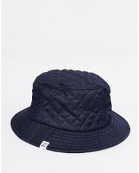 Herschel Supply Co. | Blue Lake Quilted Bucket Hat for Men | Lyst