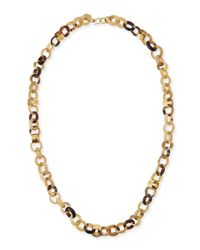 Ashley Pittman | Metallic Jinsi Light Horn Long Necklace | Lyst