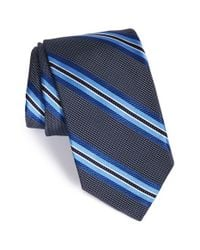 Robert Talbott | Blue Stripe Silk Tie for Men | Lyst