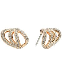 Vince Camuto - Metallic Pave Claw Earrings - Lyst