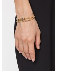 Eddie Borgo - Yellow Beaded Embellished Bracelet - Lyst