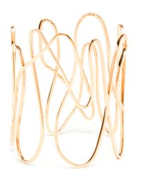 Repossi | Pink 18k Rose Gold White Noise Bracelet | Lyst