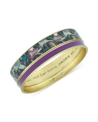 The Sak - Metallic Sakroots Bracelet Set Goldtone Purple and Jewel Peace Bangle Bracelets - Lyst