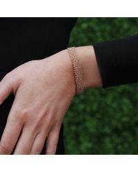 Carolina Bucci - Metallic Narrow Gold Woven Bracelet - Lyst