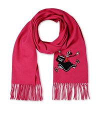 Boutique Moschino - Purple Scarf - Lyst
