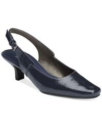 Aerosoles | Blue Dimsical Kitten Heel Pumps | Lyst