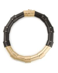 Lanvin | Black Articulated Necklace | Lyst
