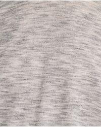 Zara   Gray Boat Neck Sweater   Lyst