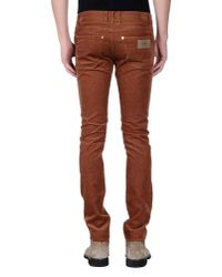 April77 - Brown Casual Trouser for Men - Lyst