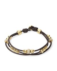 Fossil   Ladies Brown Fashion Bracelet   Lyst