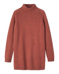 Toast | Brown Donegal Wool Sweater | Lyst