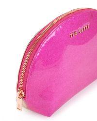 Ted Baker - Pink Large Dome Wash Bag - Lyst