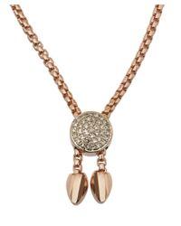 Monica Vinader | Pink Rose Gold Vermeil Sapphire Baja Precious Bracelet | Lyst