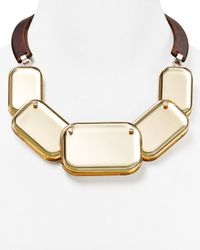 Lafayette 148 New York | Natural Geometric Necklace 165 | Lyst