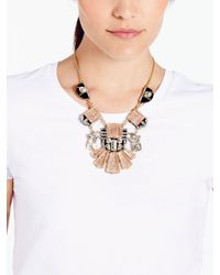 kate spade new york - Multicolor Imperial Tile Statement Necklace - Lyst