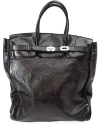 Numero 10 - Black 'chelsea' Satchel for Men - Lyst