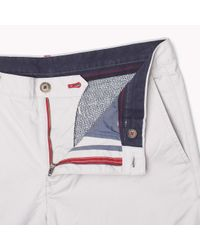 Tommy Hilfiger - Gray Slim Fit Chinos for Men - Lyst