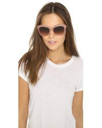 Oliver Peoples | Emmy Sunglasses - Pink Topaz/umber Gradient | Lyst