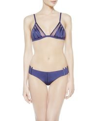 La Perla | Blue Beachwear Briefs Brief | Lyst