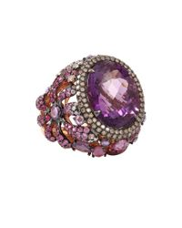 Wendy Yue | Purple Amethyst Ring | Lyst