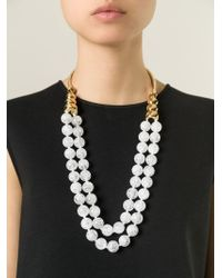 Aurelie Bidermann - Metallic 'lakotas' Necklace - Lyst