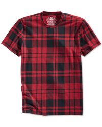 American Rag | Red Woodtrail T-shirt for Men | Lyst