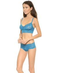 Cosabella - Blue Plus Size Never Say Never Sweetie Soft Bra Never1301p - Lyst