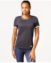 Adidas | Gray Climachill™ Active T-shirt | Lyst