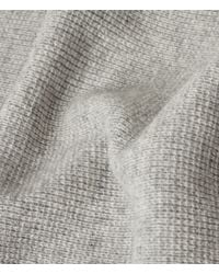 AllSaints | Gray Hiru Cashmere Scarf for Men | Lyst