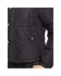 Polo Ralph Lauren - Black Hooded Down Jacket - Lyst