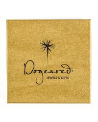 Dogeared - Metallic Gold Vermeil Number 4 Ring - Lyst