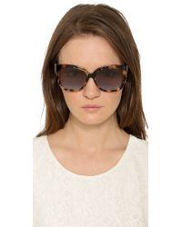 Michael Kors - Taormina Sunglasses - Turquoise Tort/blue Gradient - Lyst