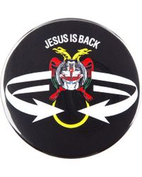 Givenchy - Black Jesus Is Back Badge Button - Lyst