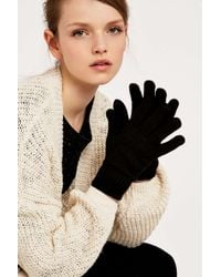 Urban Outfitters | Black Classic Super Soft Gloves | Lyst