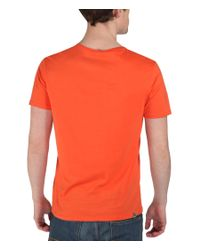 Bench - Orange Eager Graphic Crew Neck Slim Fit T-shirt for Men - Lyst